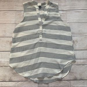 Windsor// striped blouse size small